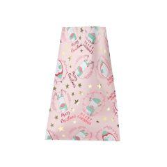 Gavepose Pingvin rosa