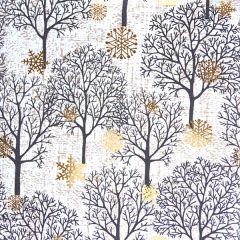 Gavepapir Fall trees white FSC