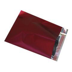 Foliepose med tapeluk i mat vinrød