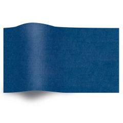 Silkespapper Enfärgat Parade Blue