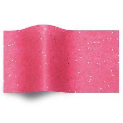 Silkespapper Gemstones Hot Pink Safir