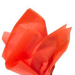 Farvet silkespapir orange