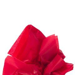 Farvet silkespapir scarlet