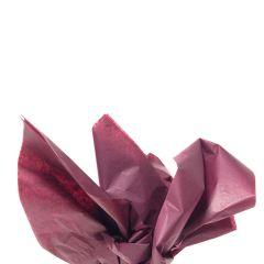 Farvet silkespapir burgundy
