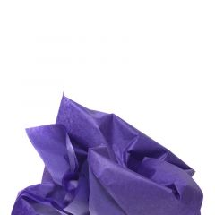 Farvet silkespapir violet