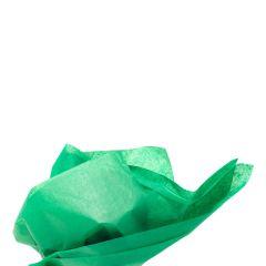 Farvet silkespapir jadegrøn