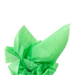 Farvet silkespapir græsgrøn