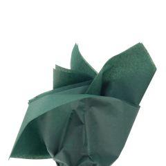 Farvet silkespapir flaskegrøn