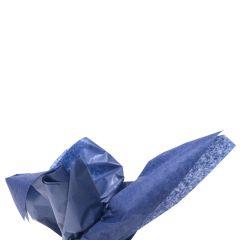 Farvet silkespapir marineblå