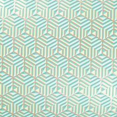 Gavepapir Hexagon green