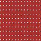 Gavepapir Hjärtan röd