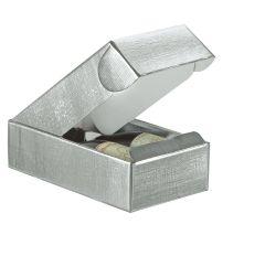 Gaveæsker til flasker liniepræget sølv