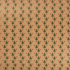 Gavepapir Christmas trees and stars