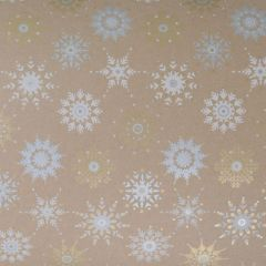 Gavepapir Crystal snowflakes
