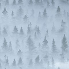 Gavepapir Foggy forest
