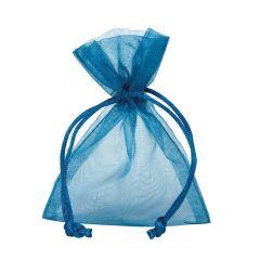 Organzapose blå