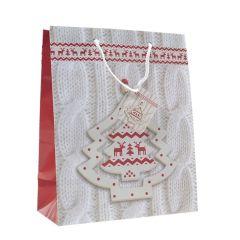 Papirsbaerepose Christmas Tree White