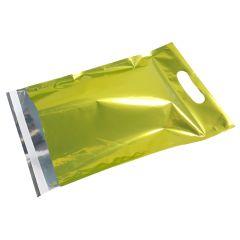 Metallic Grøn E-handelspose med håndtag